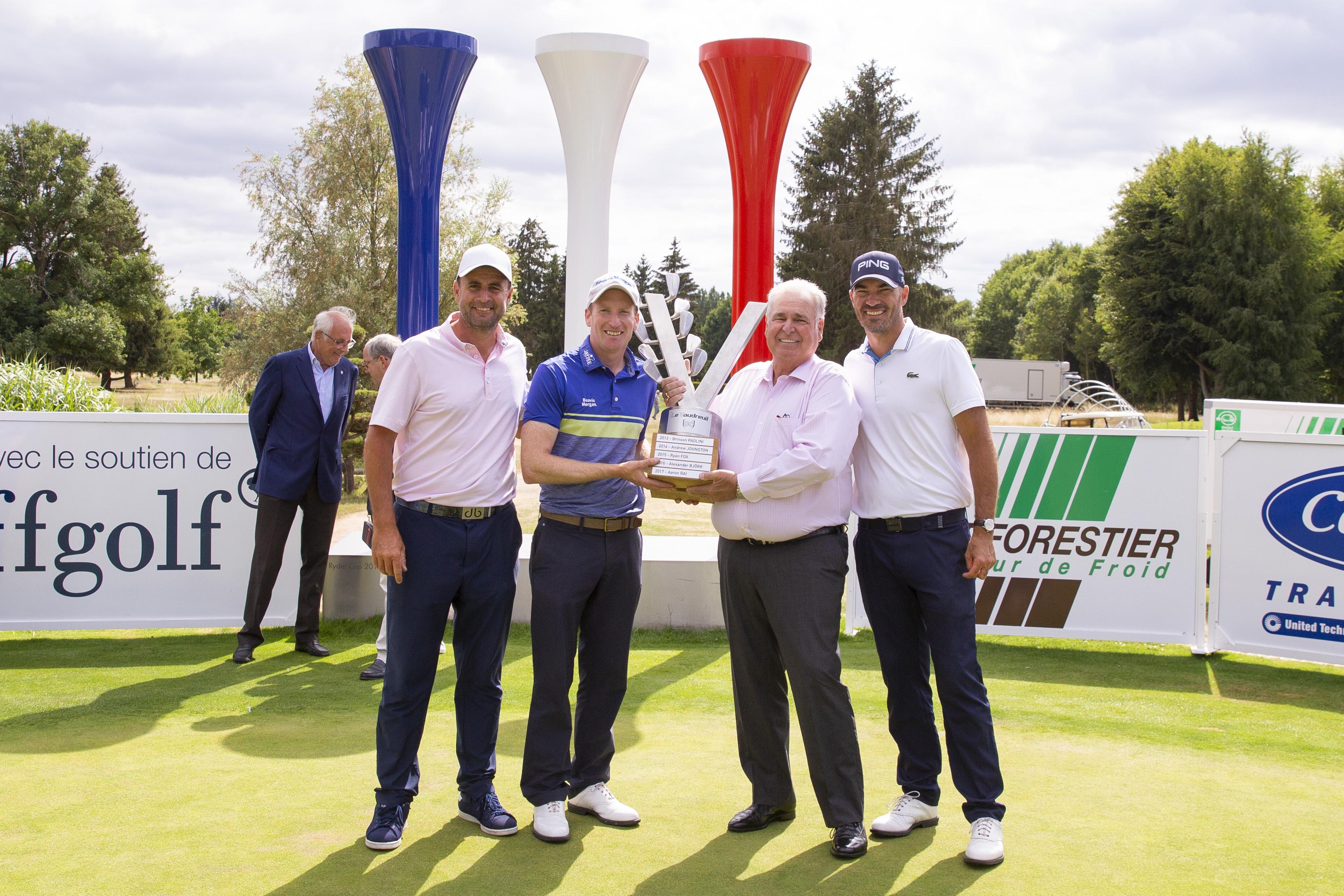 Golf - Tour européen - Vaudreuil Golf Challenge: Steven Tiley devance Grégory Havret sur le podium