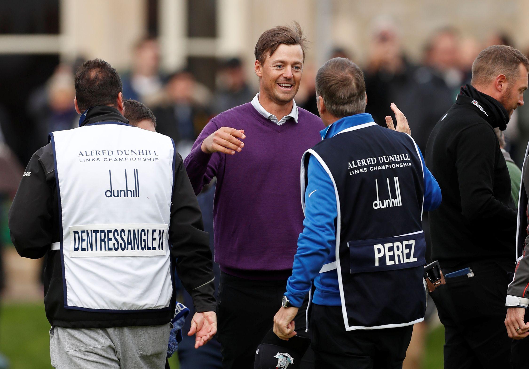 Golf - Tour européen - Victor Perez : « Je n'ai découvert l'Old Course que lors de la reconnaissance du lundi »