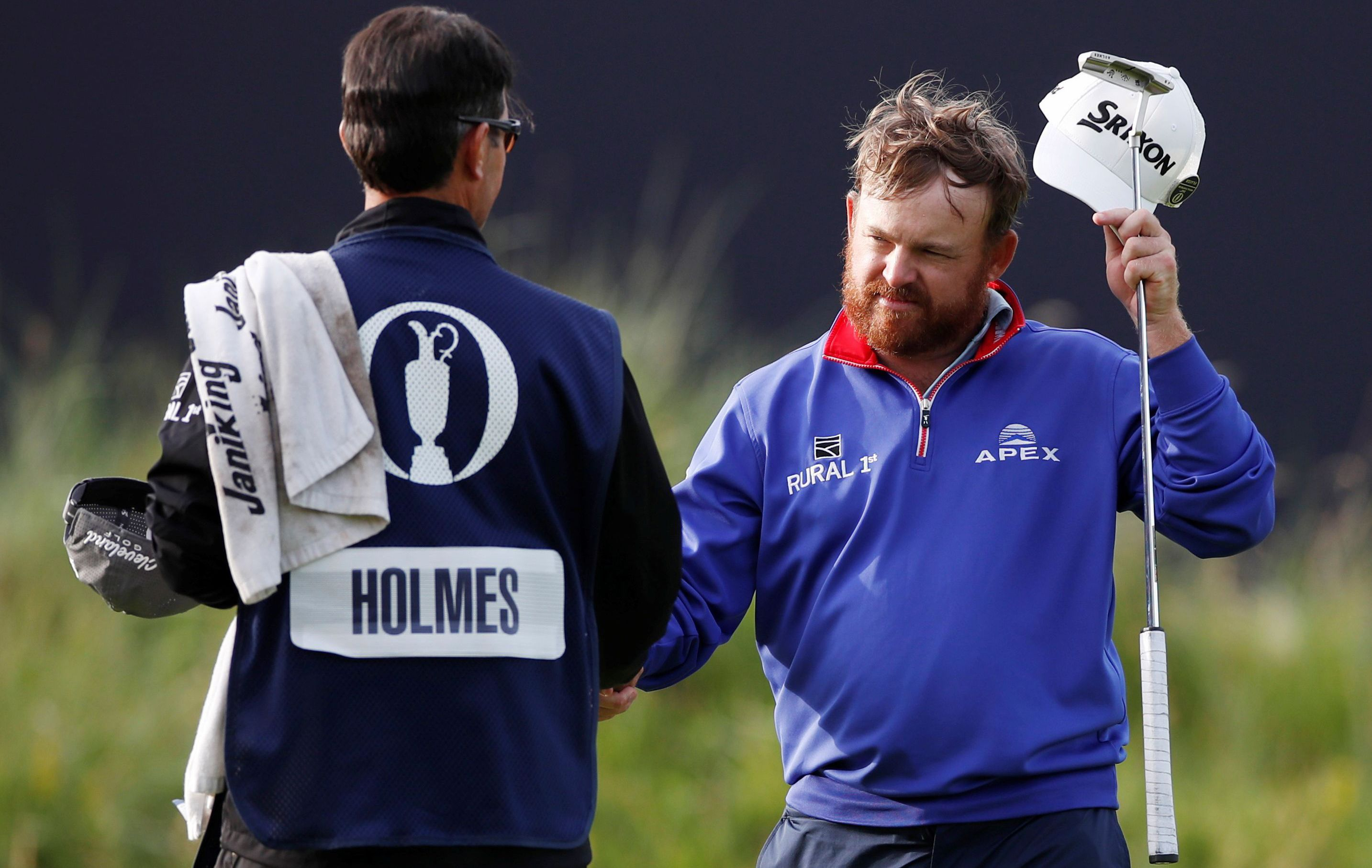 Golf - Tournois majeurs - British Open : Holmes leader, Langasque placé, McIlroy et Woods plongent