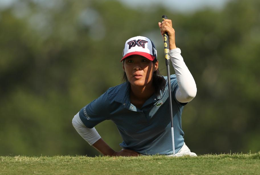 Golf - Tournois majeurs - Céline Boutier co-leader de l'US Open après le 3e tour