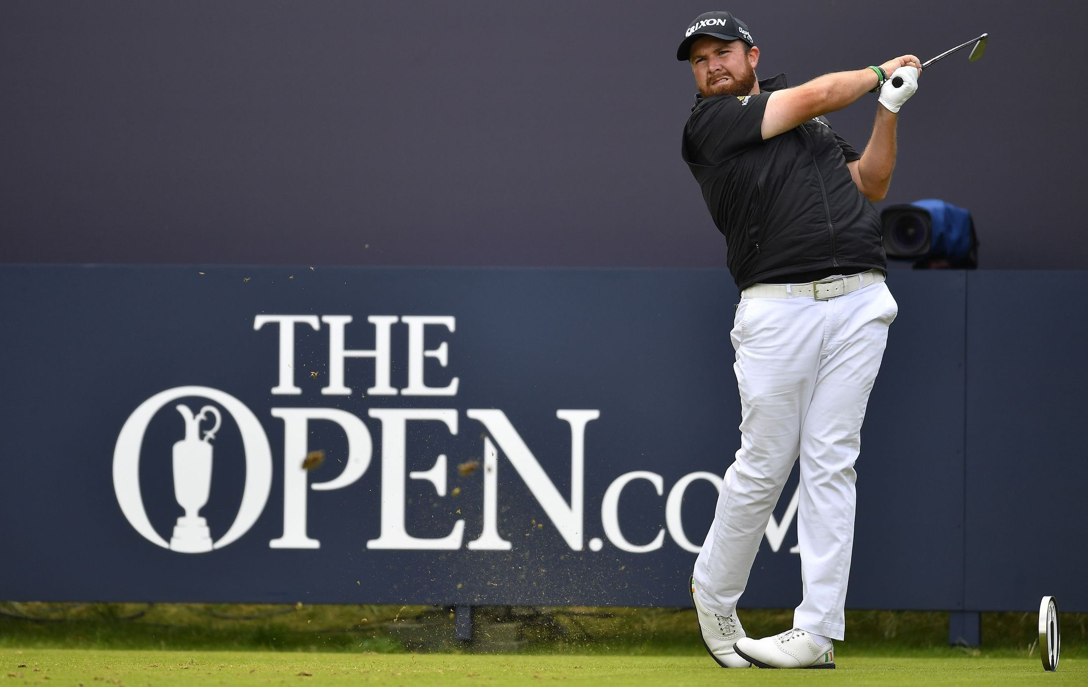Golf - Tournois majeurs - Open britannique : Shane Lowry seul leader face aux Anglais, Langasque s'accroche