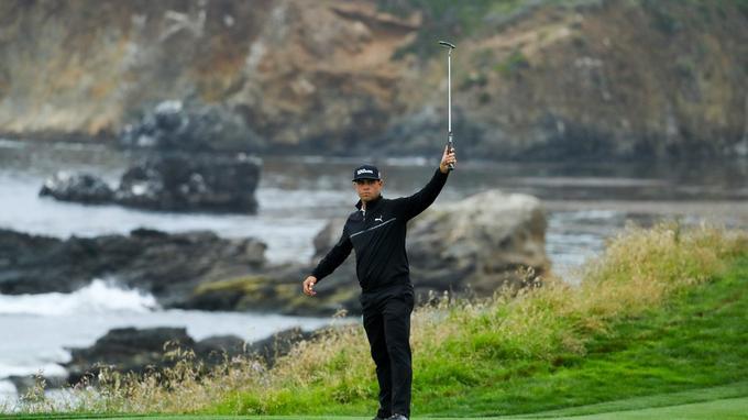 Golf - Tournois majeurs - US Open : Gary Woodland seul leader, Clément Sordet reste en lice