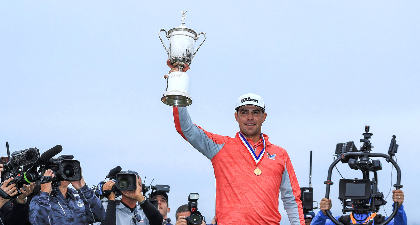 Golf - Tournois majeurs - US Open: premier Majeur de rêve pour Gary Woodland à Pebble Beach