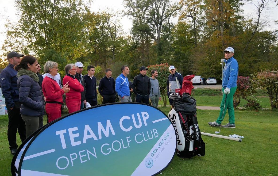 Golf - Vie des clubs - Finale de la Team Cup au Golf des Yvelines et au Golf National (78)