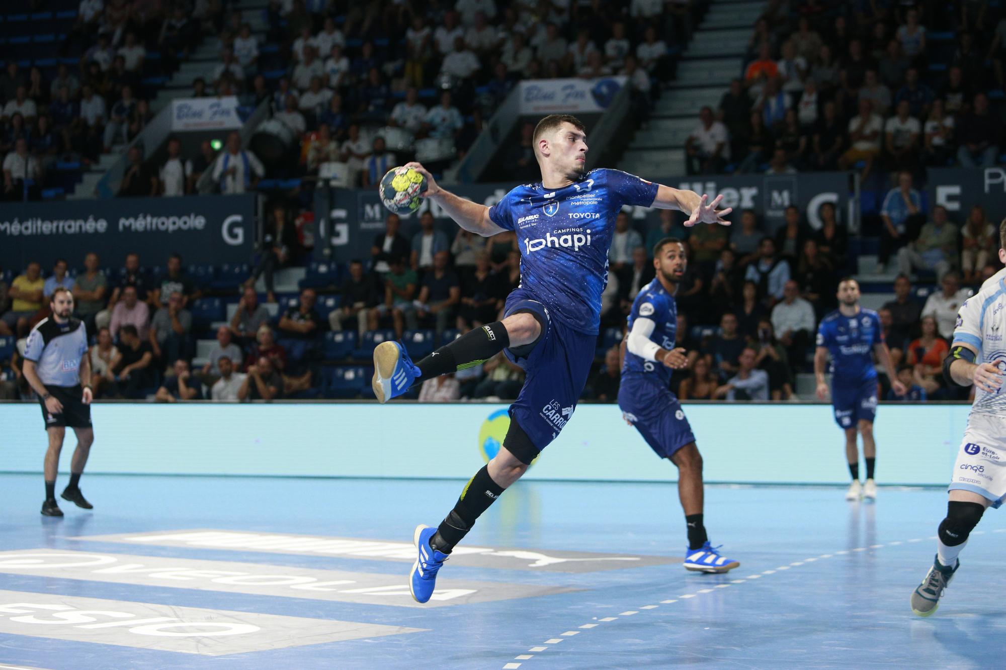 Handball - Division 1 - Montpellier et Nantes aux trousses de Paris