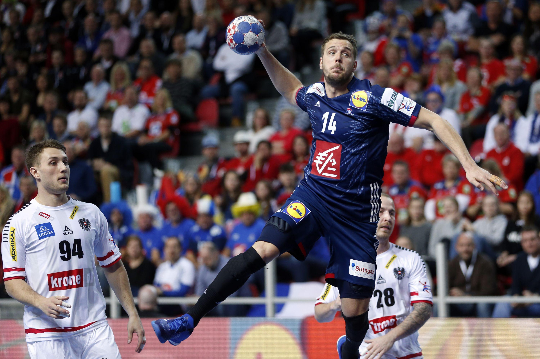 Handball - Equipe de France - Euro 2018 : La France fait le métier contre l'Autriche