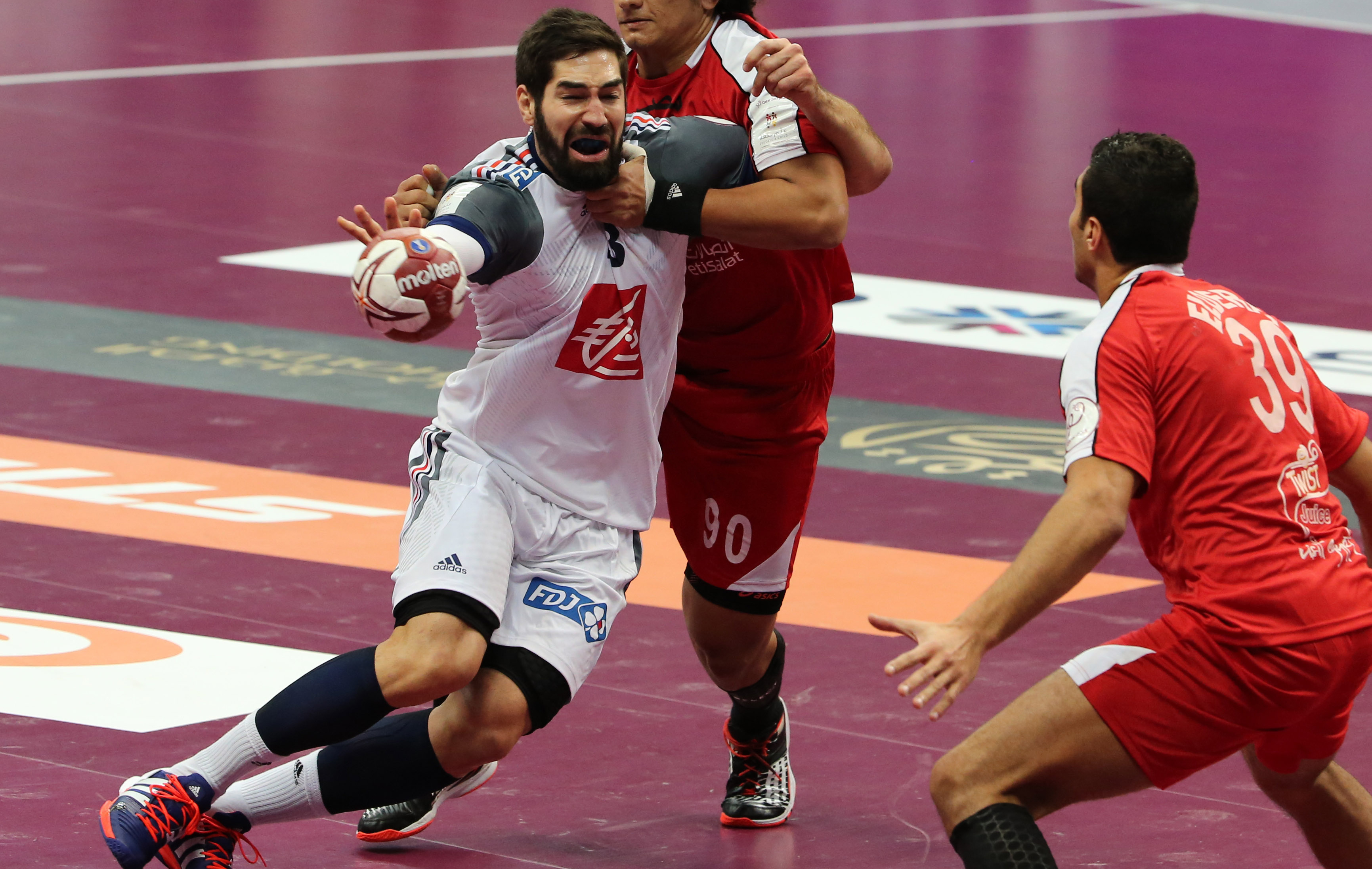 Chaussure handball nikola karabatic - Made in sport vitrolles ...