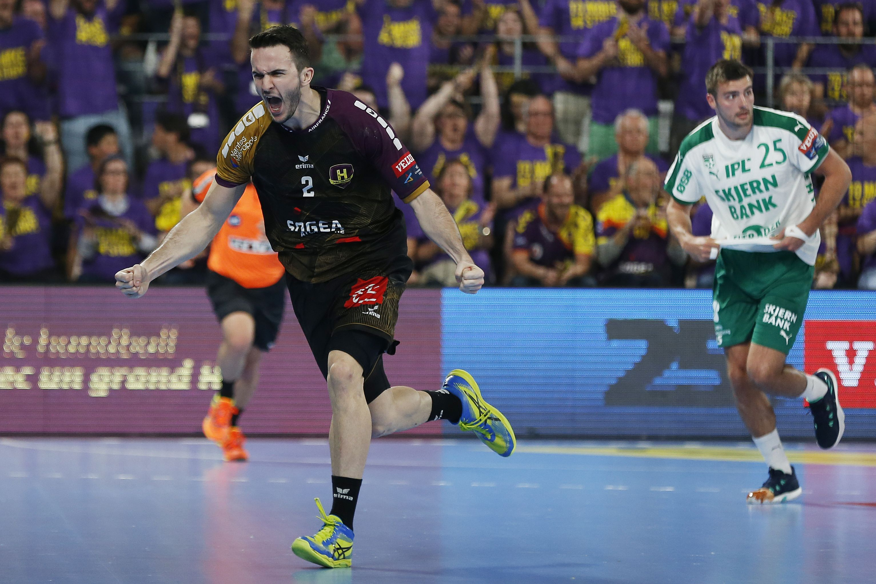 Handball - Ligue des Champions - Nantes pose une option sur le Final Four