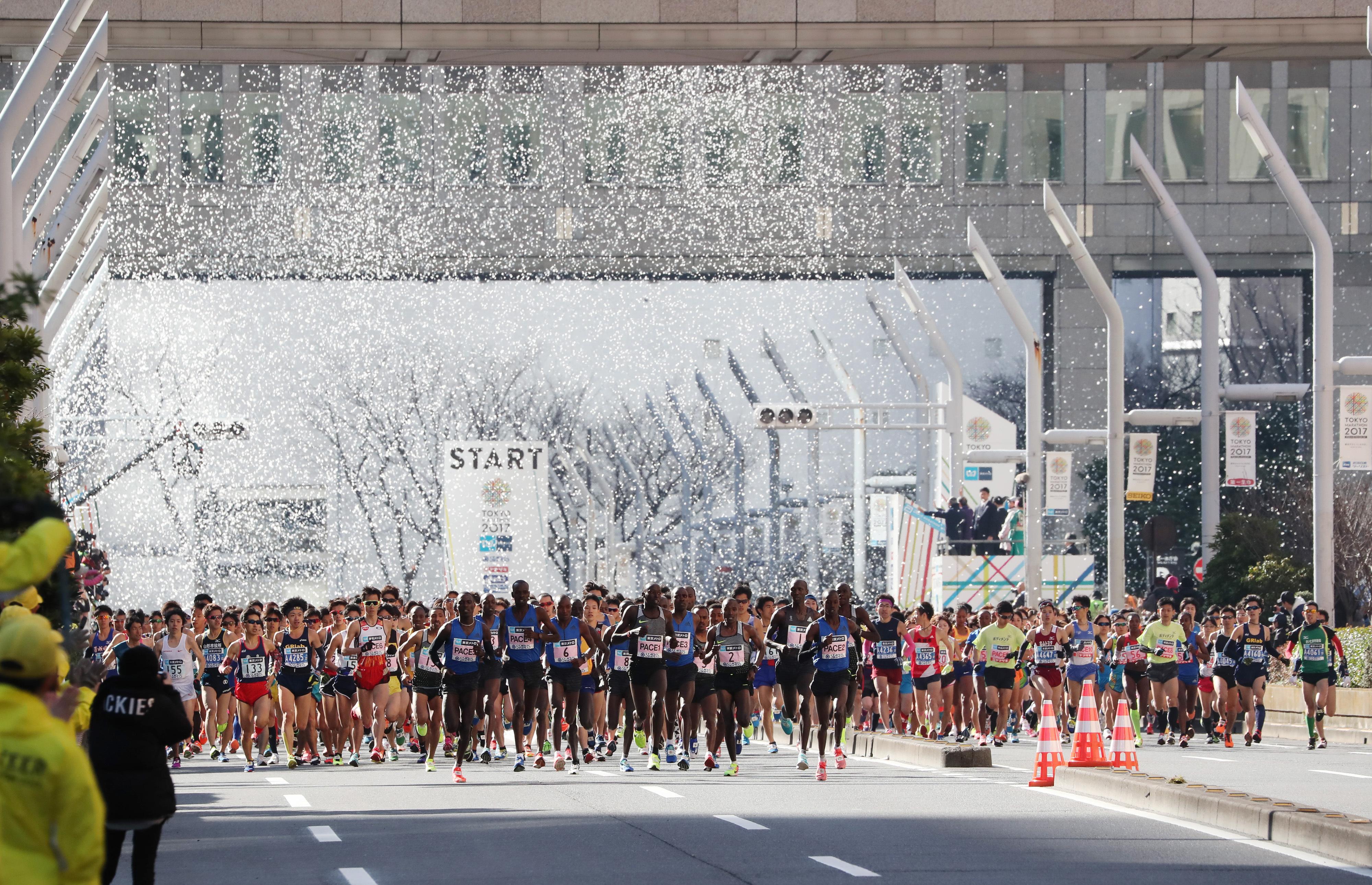 jo 2020 le marathon de tokyo partira 06h cause de la chaleur tokyo 2020 jeux olympiques. Black Bedroom Furniture Sets. Home Design Ideas