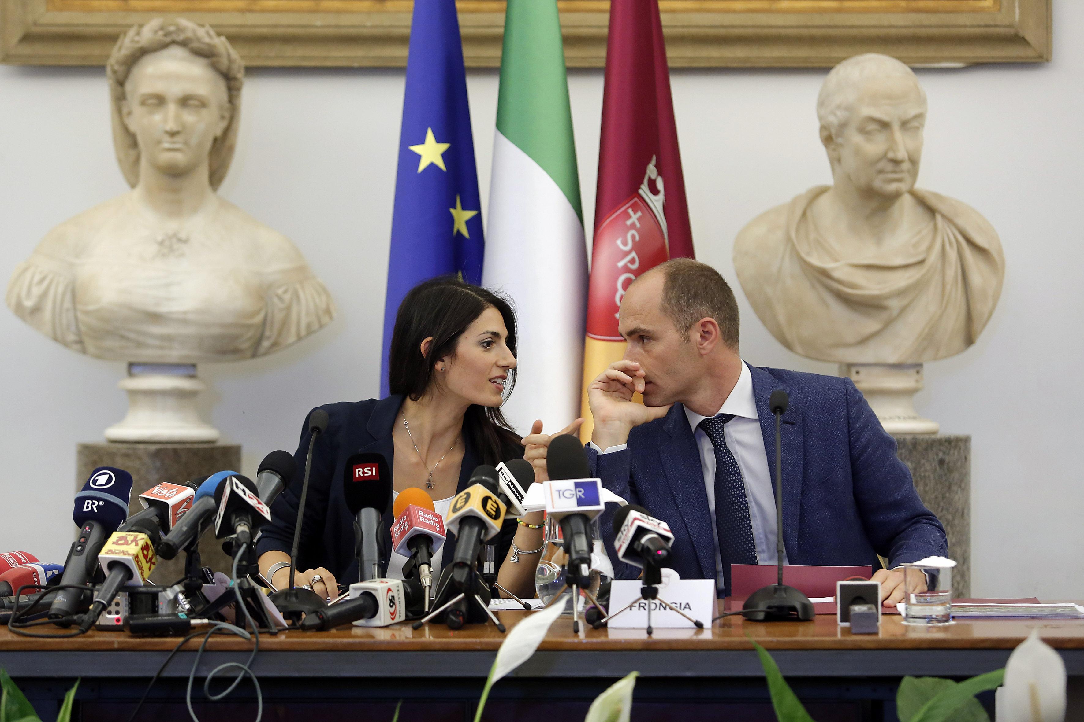 Jeux Olympiques - JO 2024 - Rome déchire son projet olympique