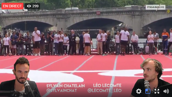 Jeux Olympiques - JO 2024 - JO Paris 2024 : suivez en direct la course sur la Seine