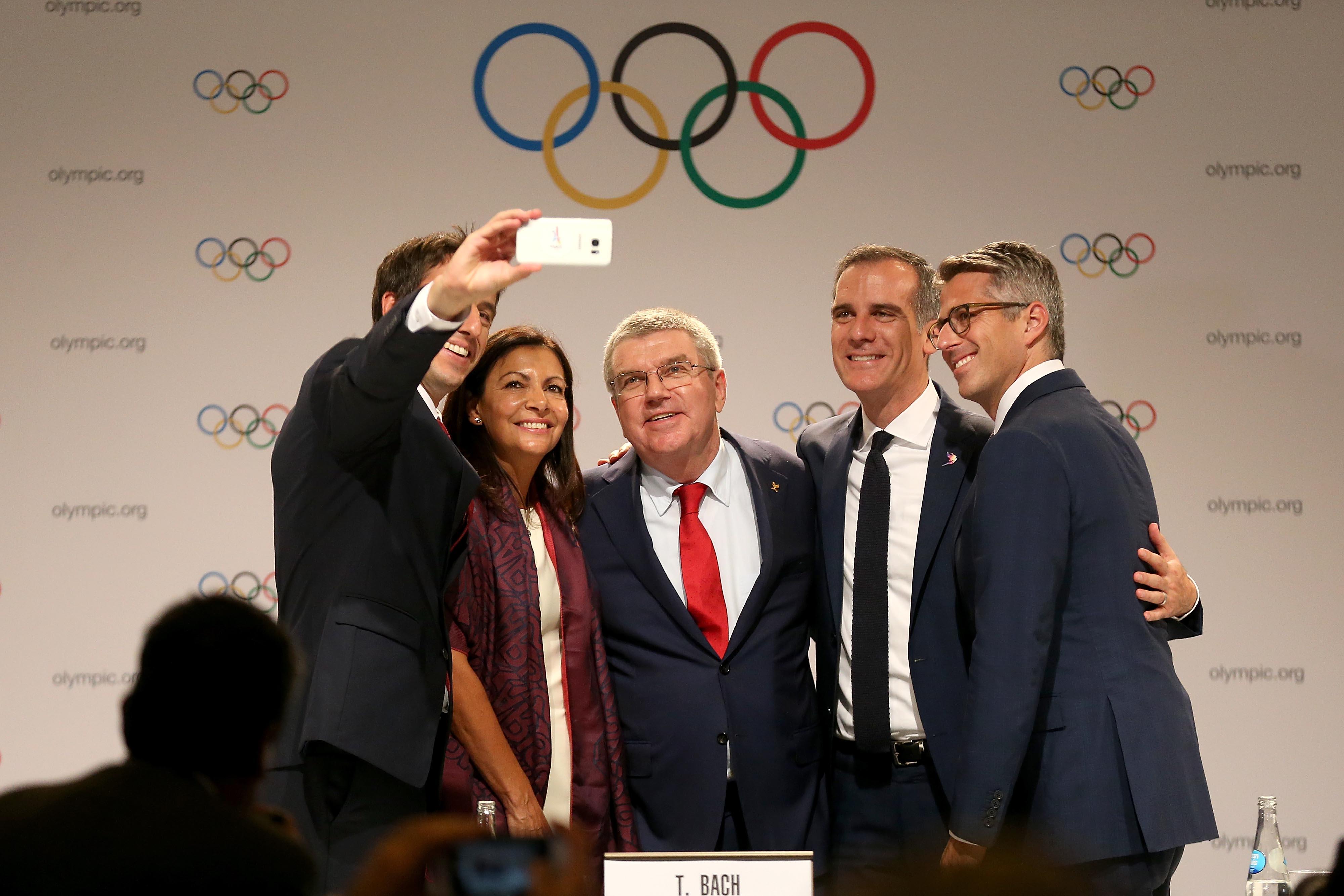 Jeux olympiques - JO 2024 - Paris et Los Angeles annonce un accord de «jumelage olympique»