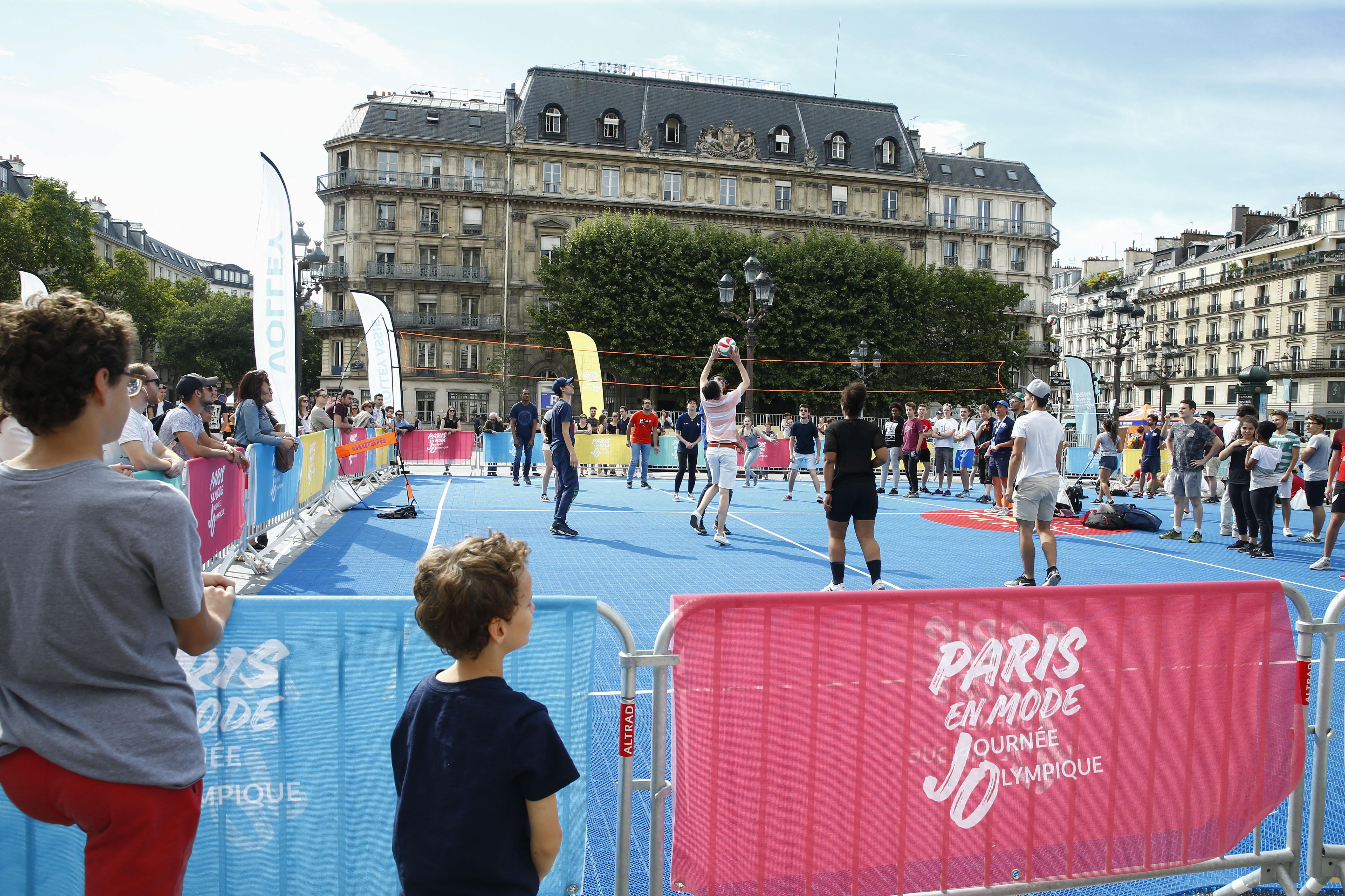 Jeux olympiques - JO 2024 - Paris fête l'Olympisme devant 450.000 spectateurs