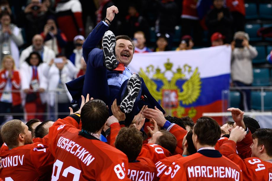 Jeux olympiques - Pyeongchang 2018 - JO 2018 : 9e titre olympique pour les hockeyeurs russes