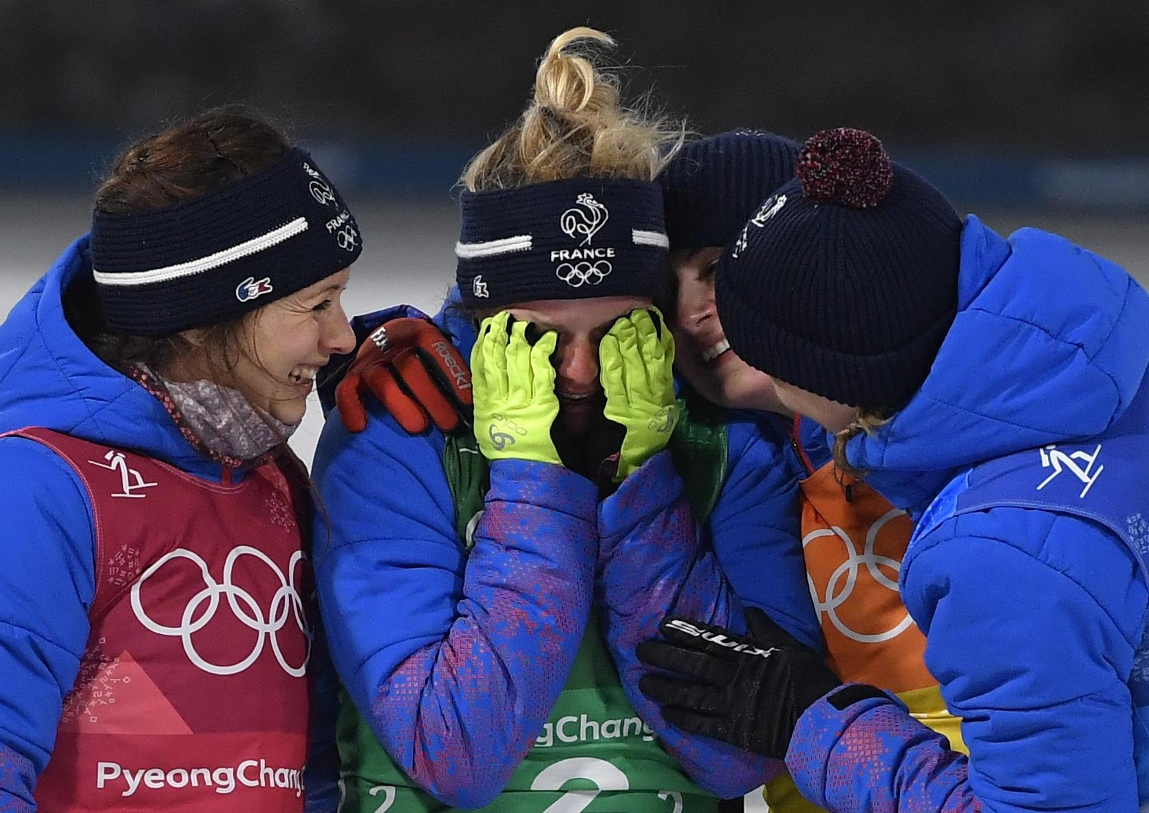 Jeux olympiques - Pyeongchang 2018 - Dorin-Habert : «Il n'y a pas que Fourcade dans cette équipe»