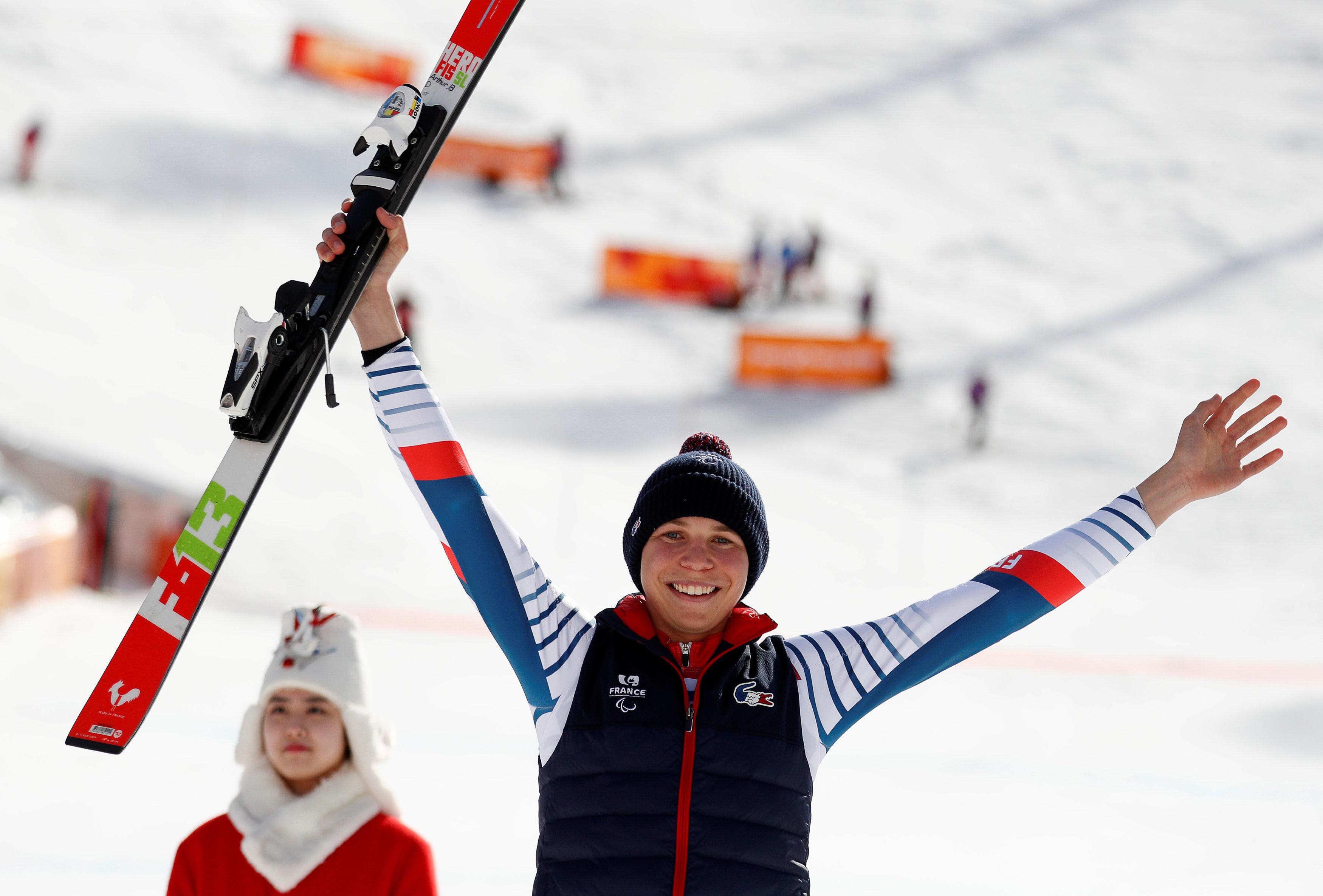 Jeux olympiques - Pyeongchang 2018 - Jeux Paralympiques : Arthur Bauchet, un skieur en argent