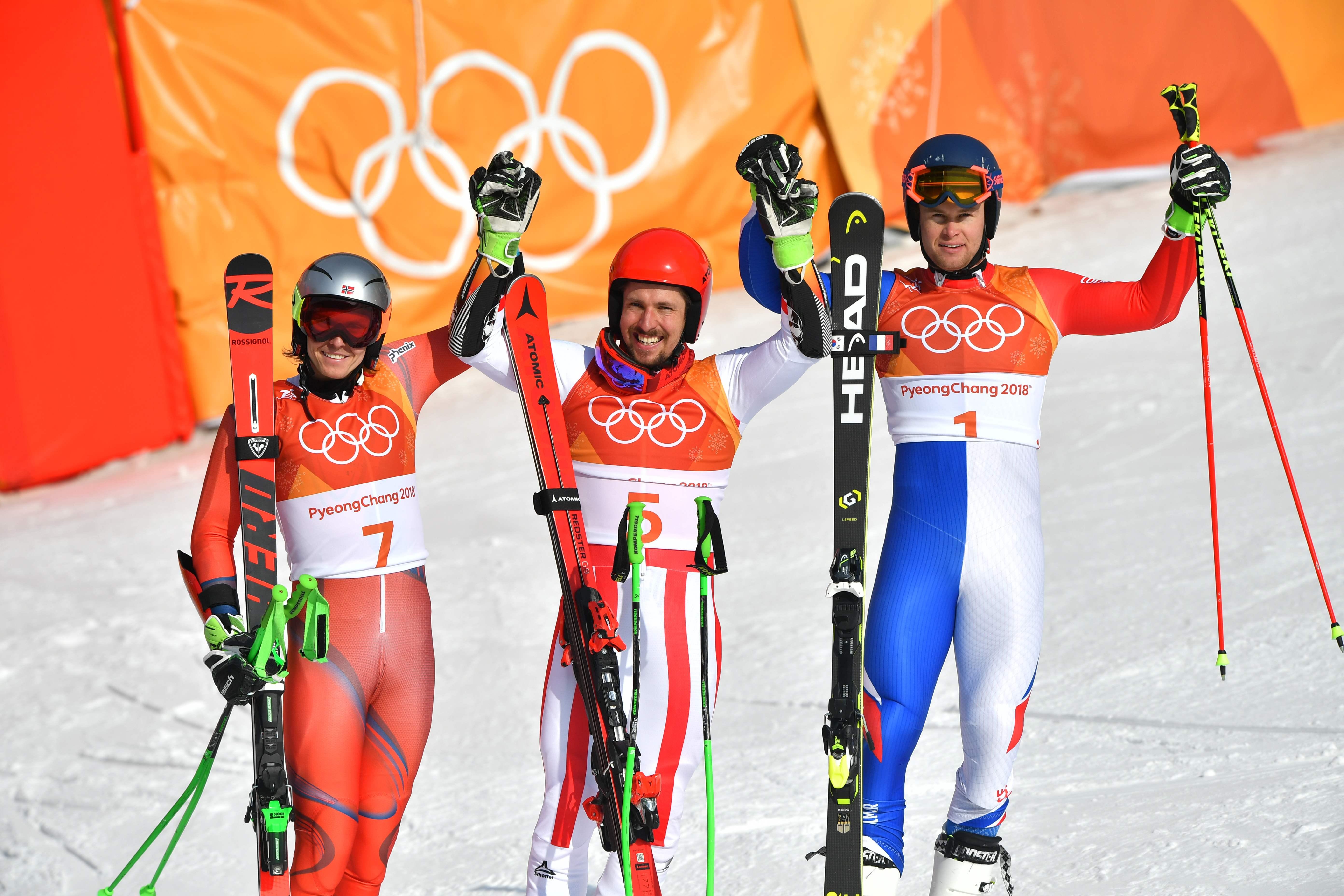 Jeux olympiques - Pyeongchang 2018 - JO 2018 : Hirscher imperial, Pinturault en bronze