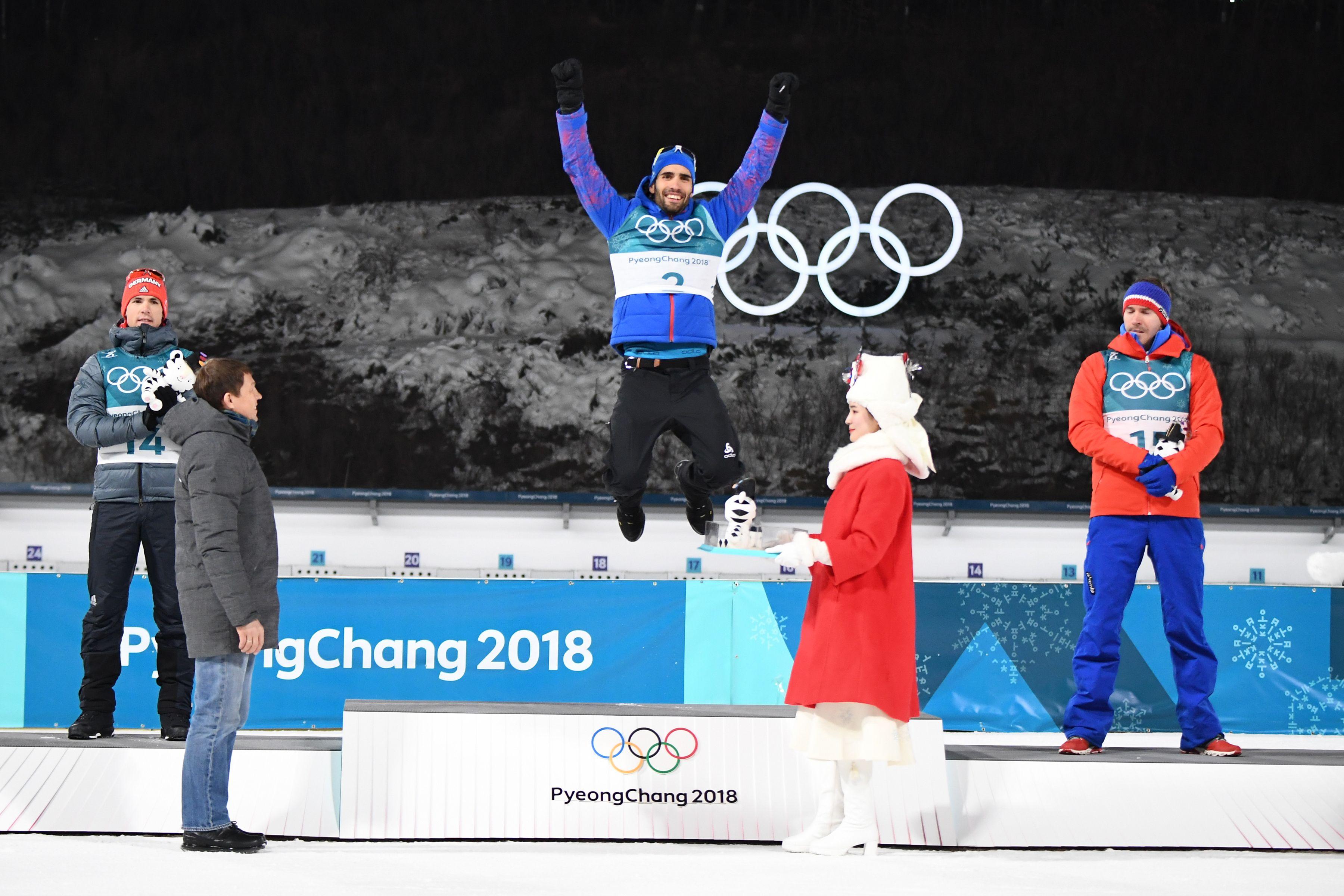 médaille jeux 2018