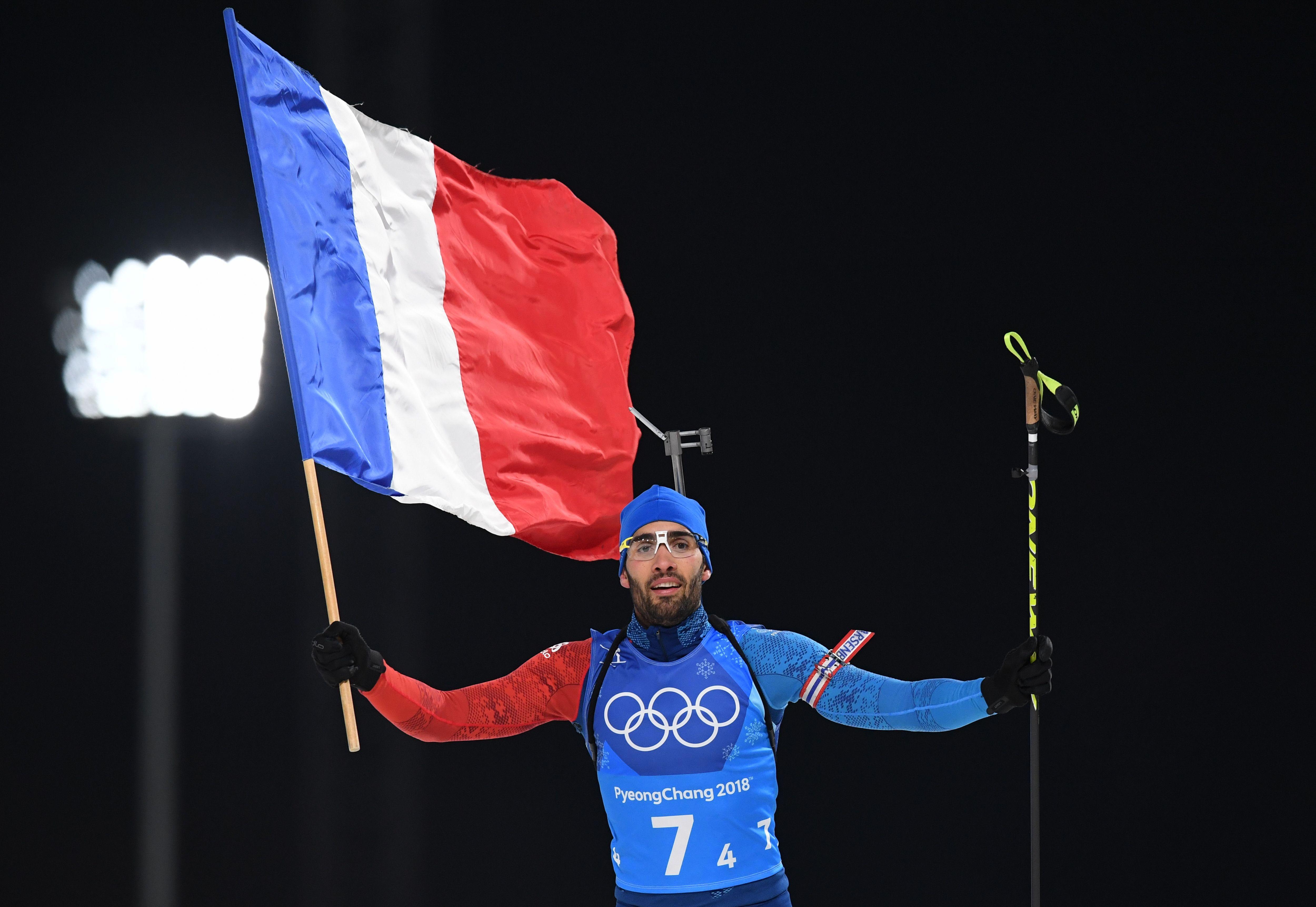 Jeux olympiques - Pyeongchang 2018 - JO 2018 : Martin Fourcade seul dans la légende avec une 5e médaille d'or