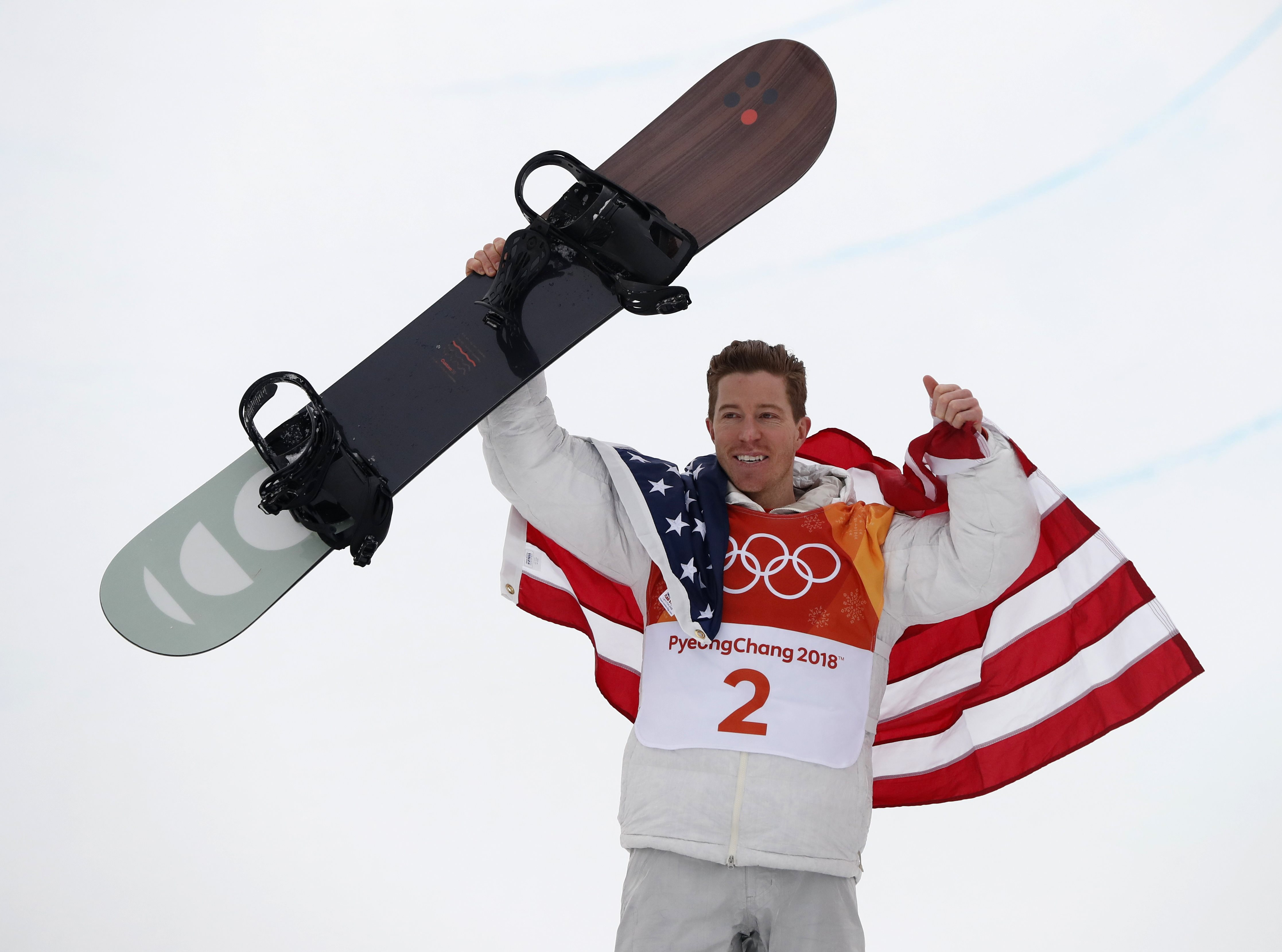 Jeux olympiques - Pyeongchang 2018 - JO 2018 : Shaun White s'envole toujours plus haut