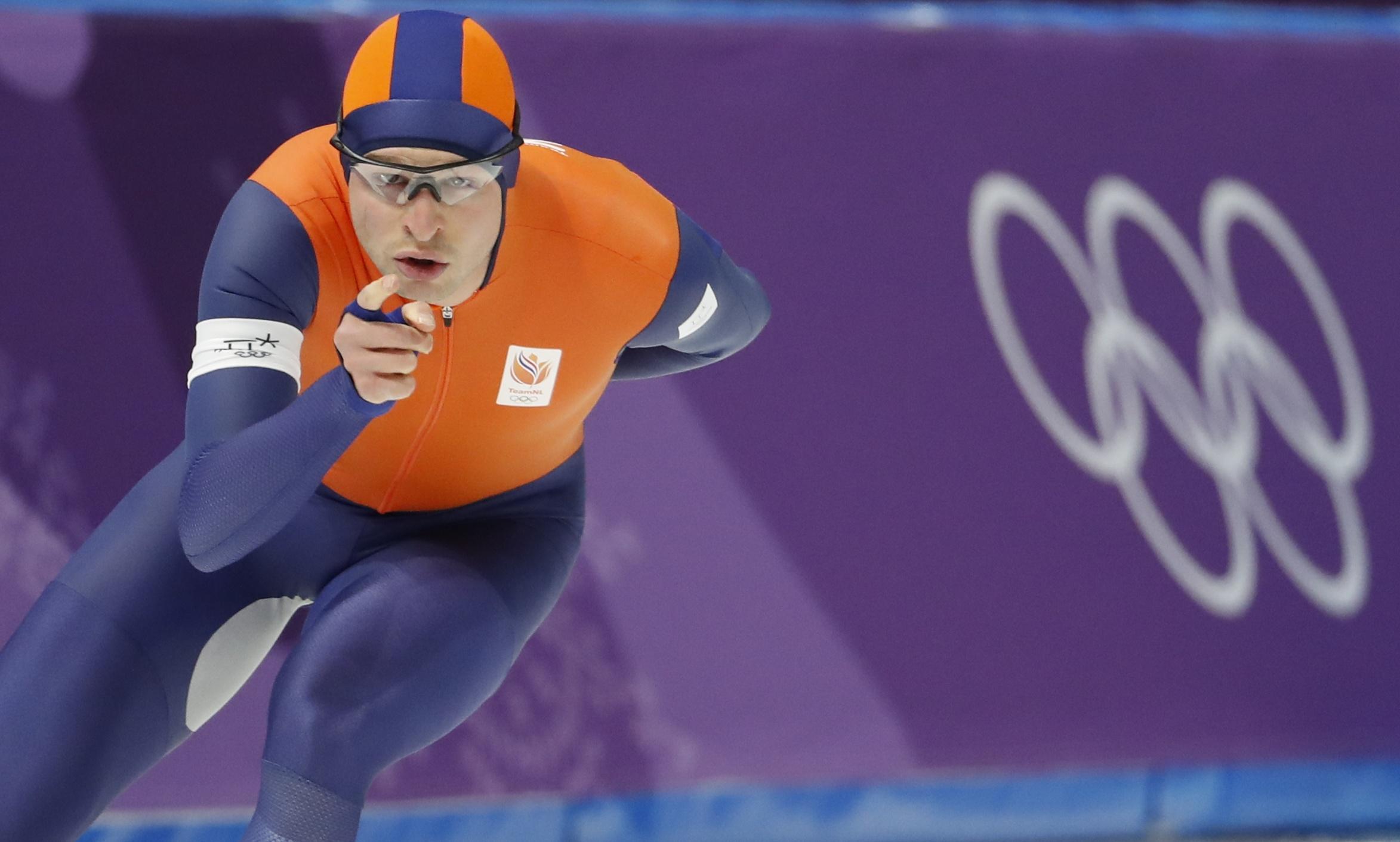 Jeux olympiques - Pyeongchang 2018 - JO 2018 : Sven Kramer, roi du patinage de vitesse