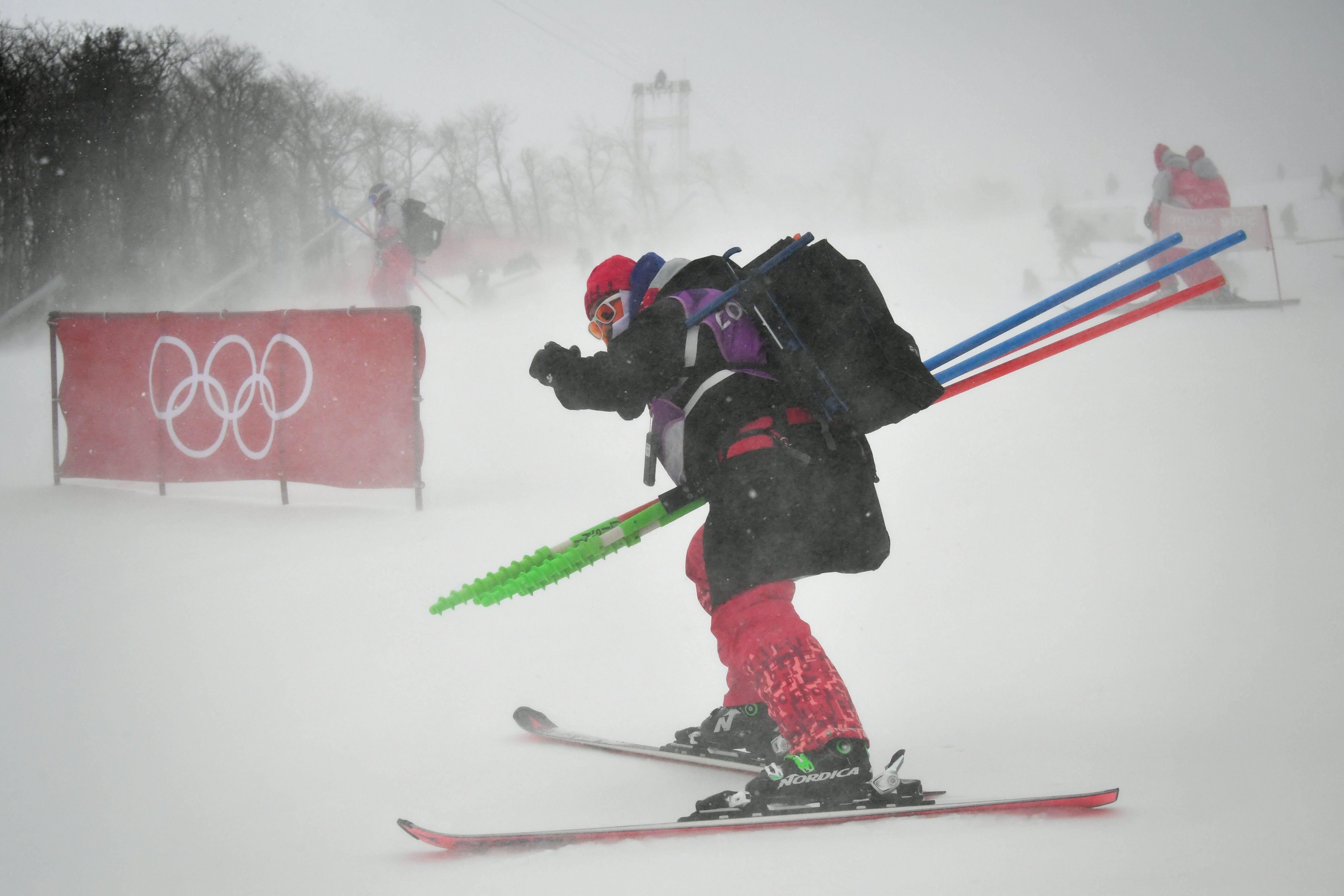 Jeux olympiques - Pyeongchang 2018 - JO 2018 : White, vent, chutes : le résumé de la nuit à Pyeongchang