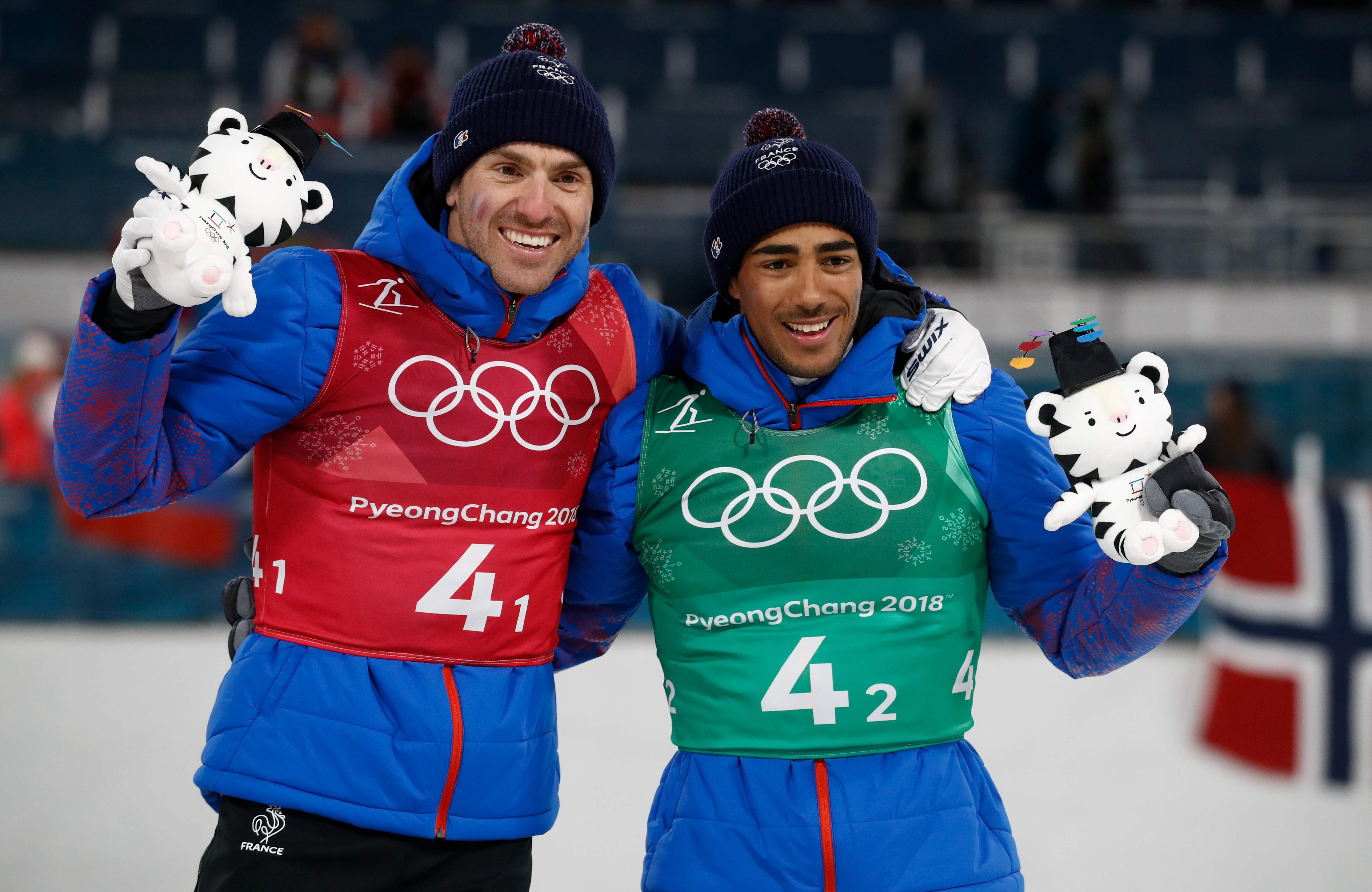 Jeux olympiques - Pyeongchang 2018 - JO 2018 : les fondeurs français prennent goût au bronze