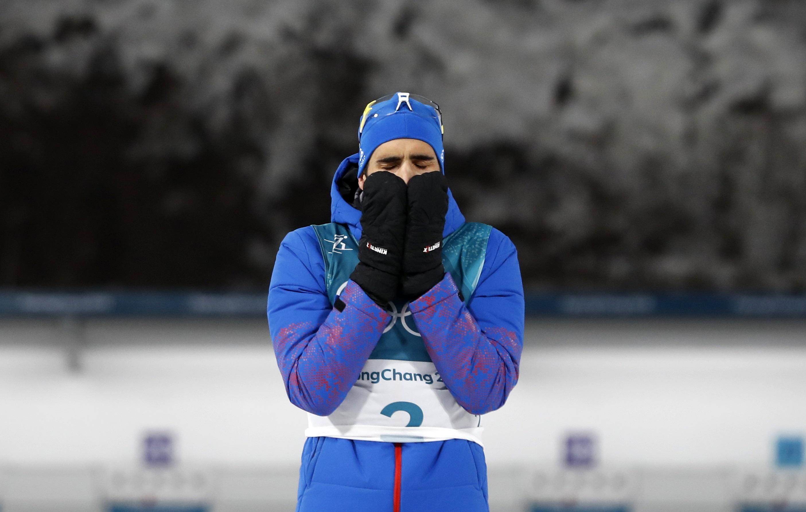 Jeux olympiques - Pyeongchang 2018 - Martin Fourcade : «J'ai tellement cru avoir perdu…»