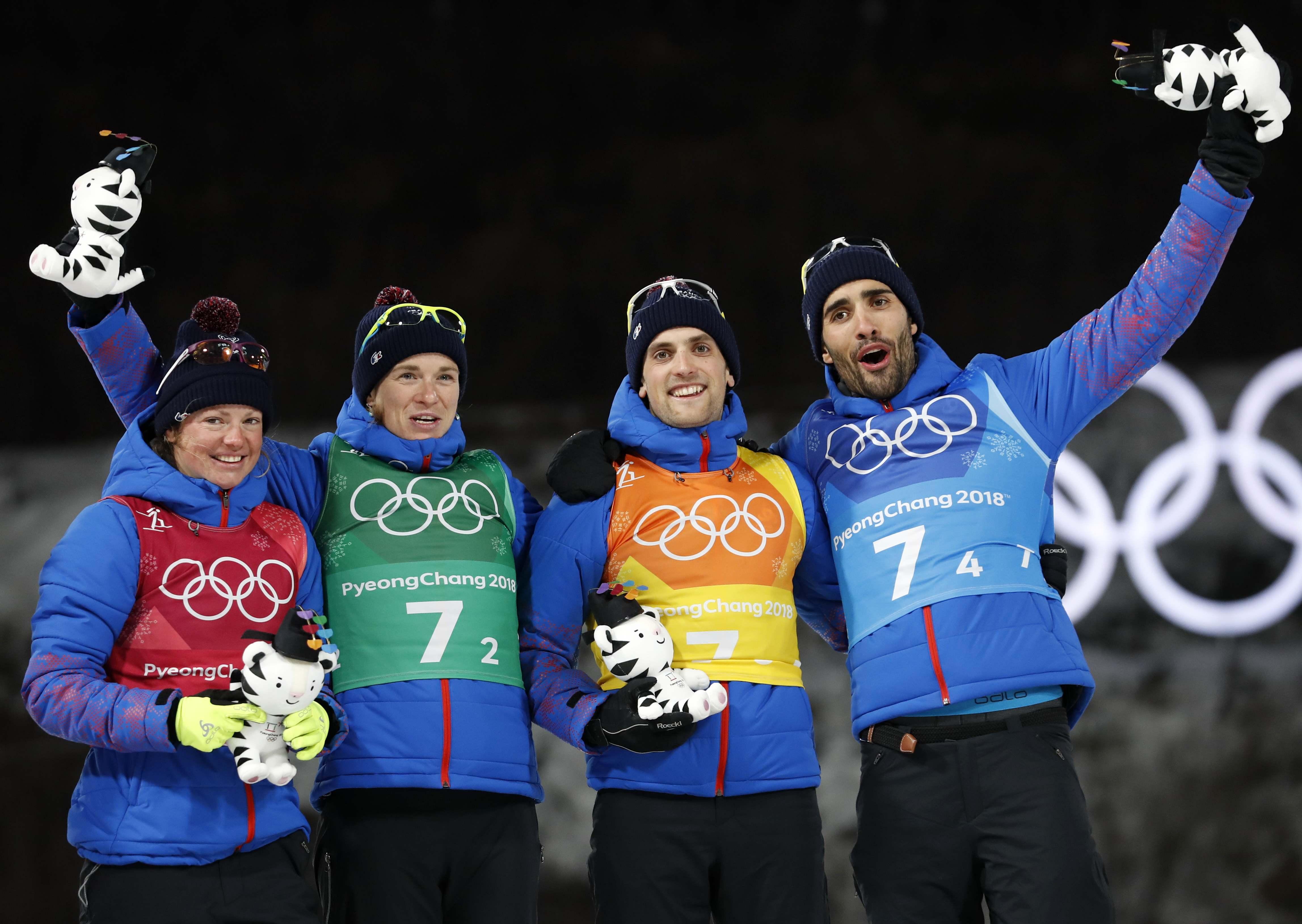 Jeux olympiques - Pyeongchang 2018 - Martin Fourcade : «Partager un titre, c'est encore plus fort»