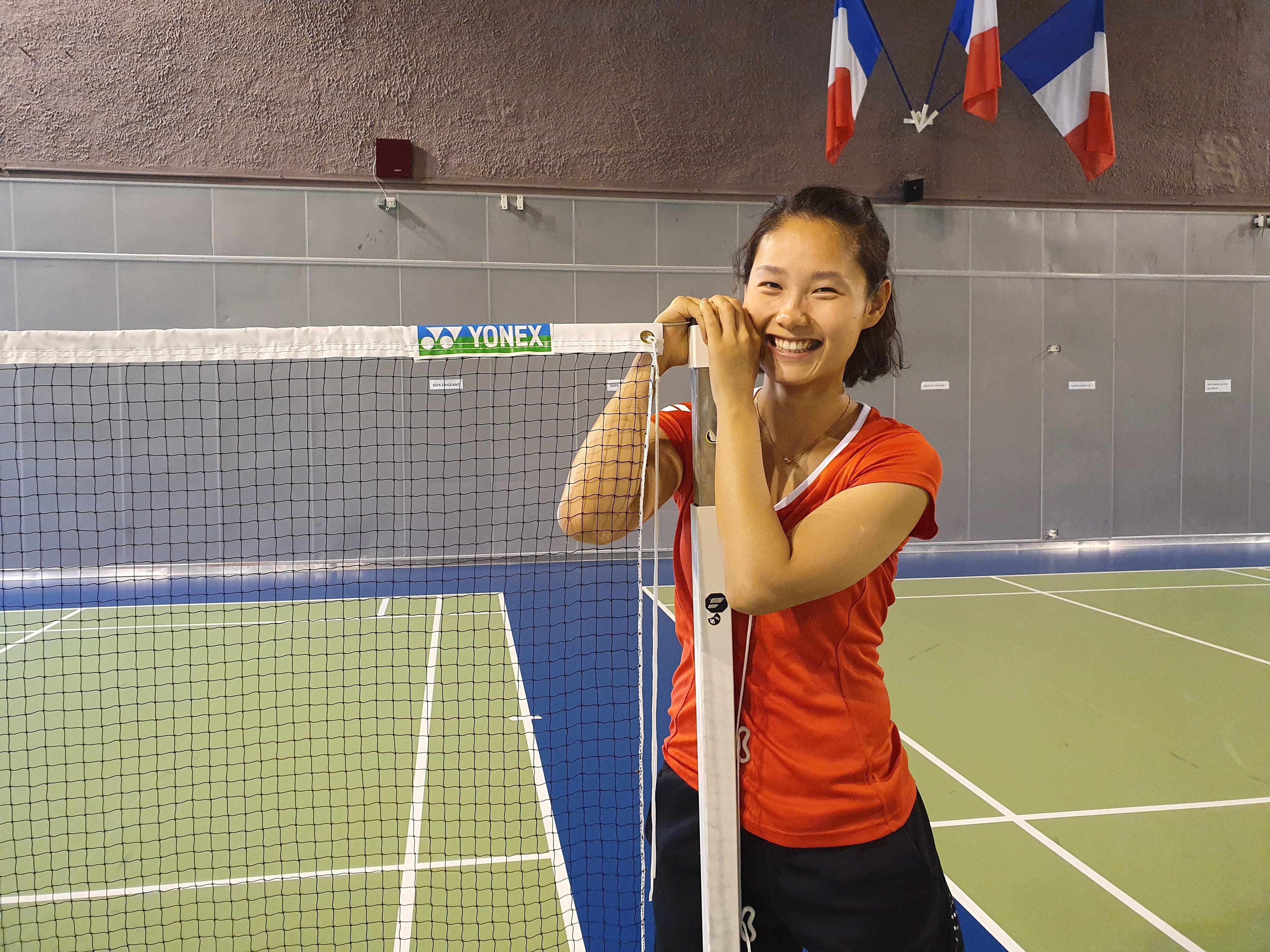 Infos Sports : Jeux olympiques - </b>Tokyo 2020 - Badminton  : </b>Qi Xuefei, le bonheur à la française