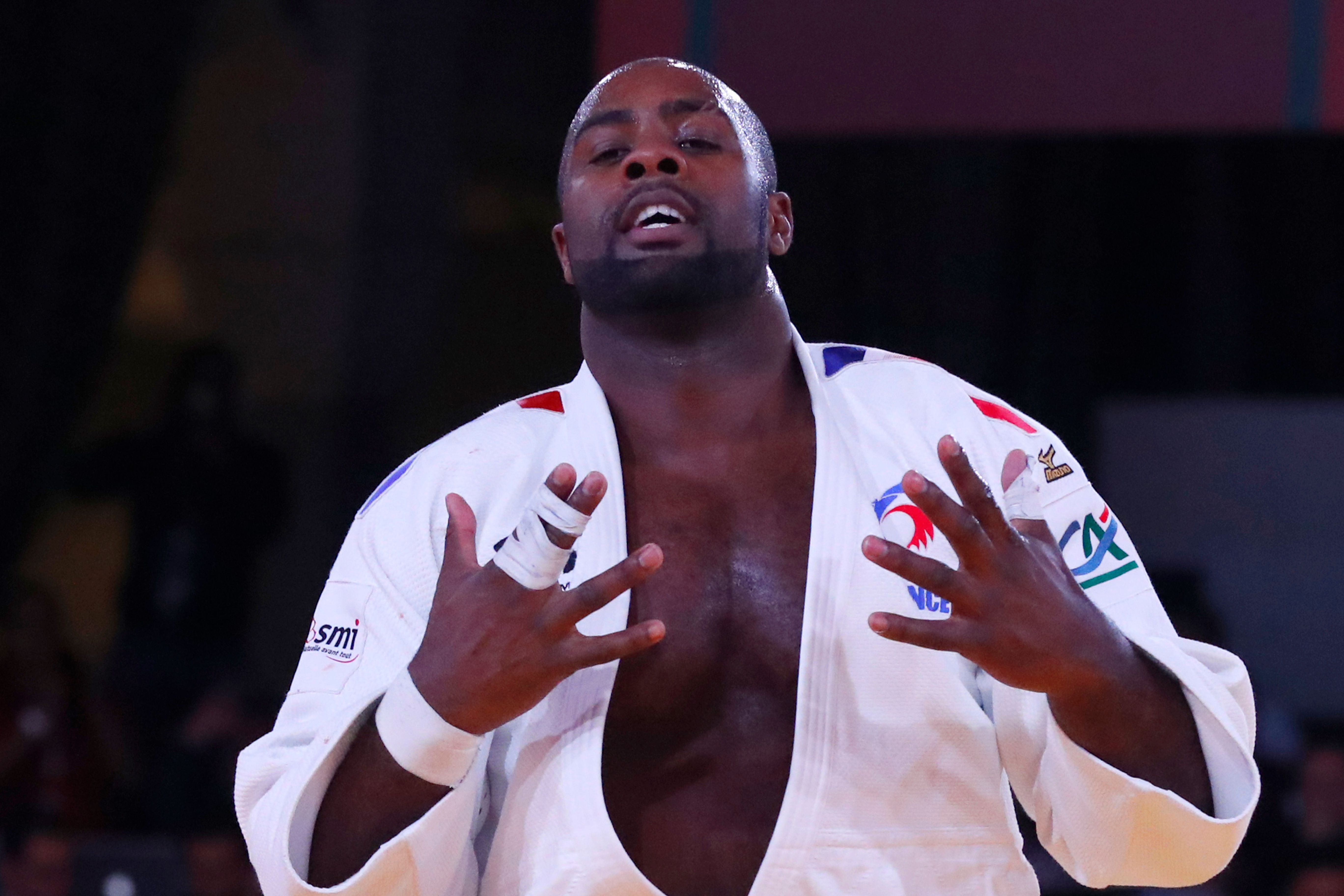 teddy riner un g ant parmi les g ants judo. Black Bedroom Furniture Sets. Home Design Ideas