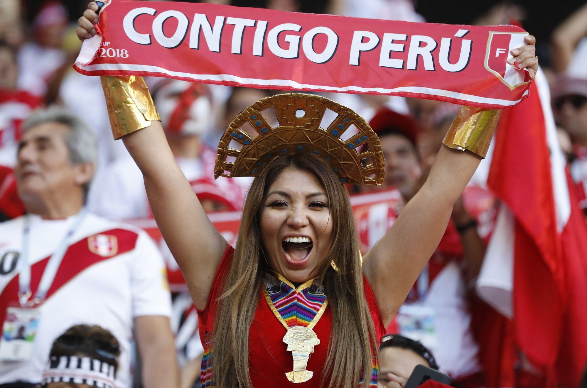 La folle passion du Pérou pour sa «bicolore»