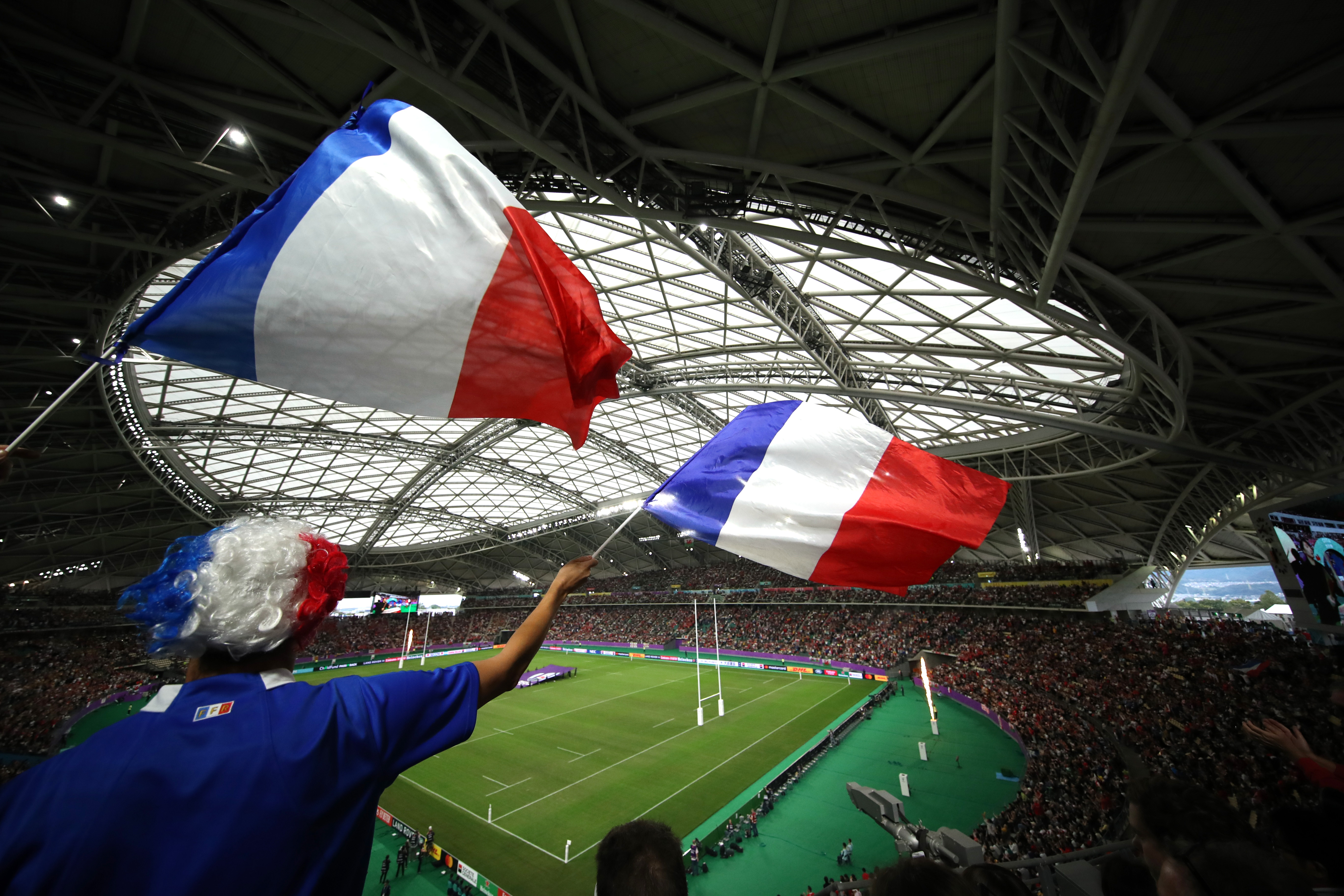Rugby - Coupe du monde 2019 - Les plus belles images de pays de Galles-France