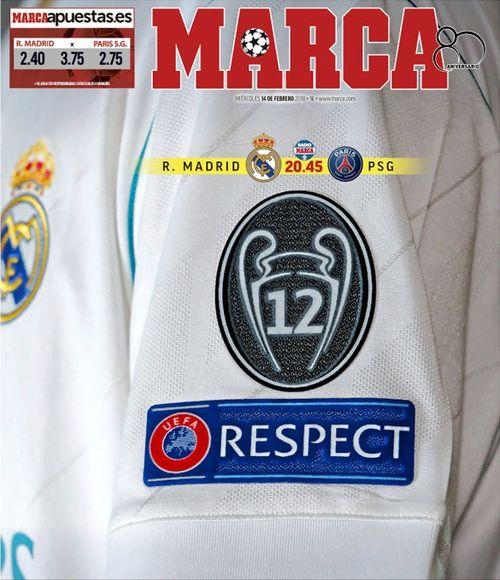Football - Ligue des champions - Revue de presse avant Real-PSG : Marca et le poids de l'histoire