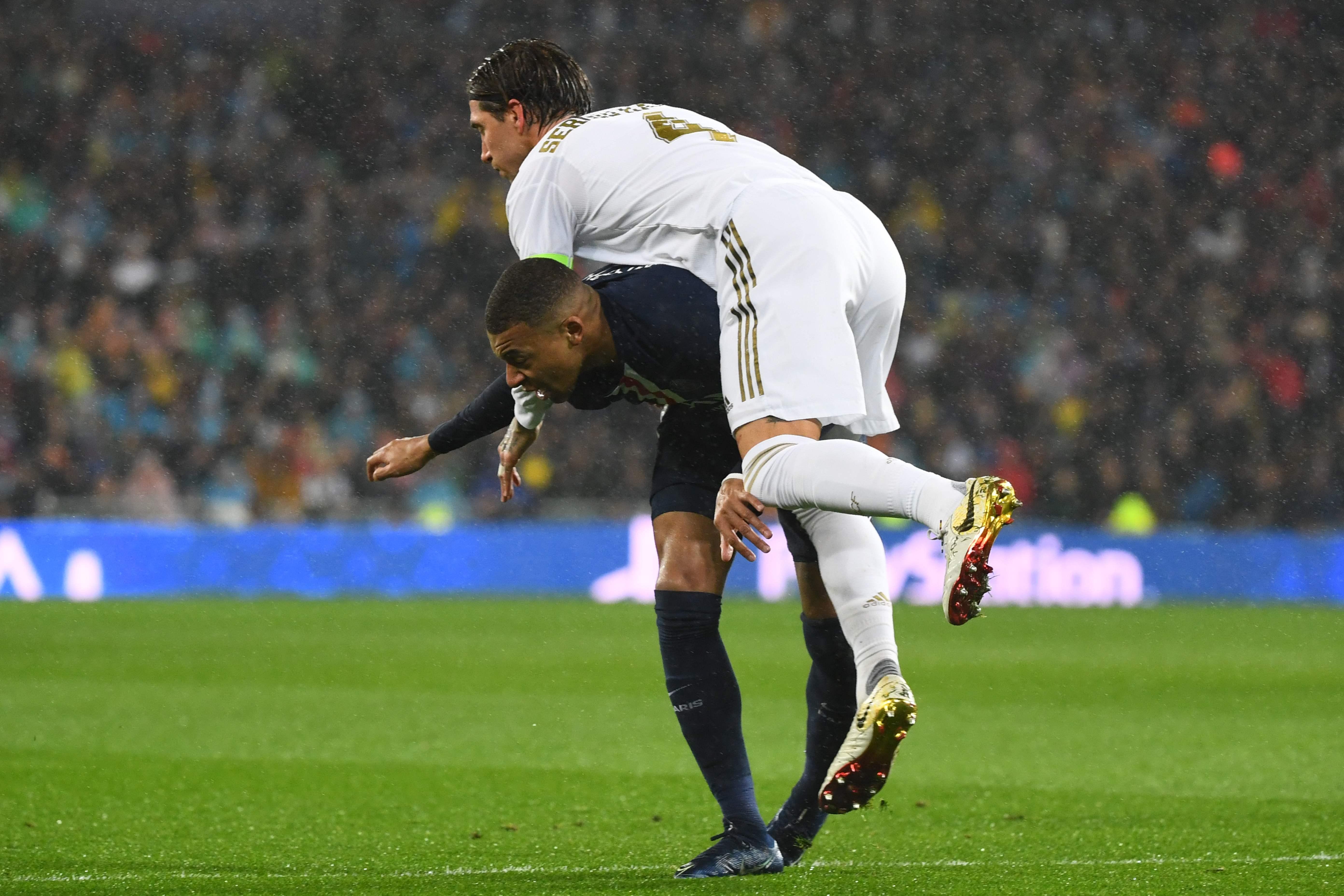 Football - Ligue des champions - Real Madrid-Paris SG : le choc en images