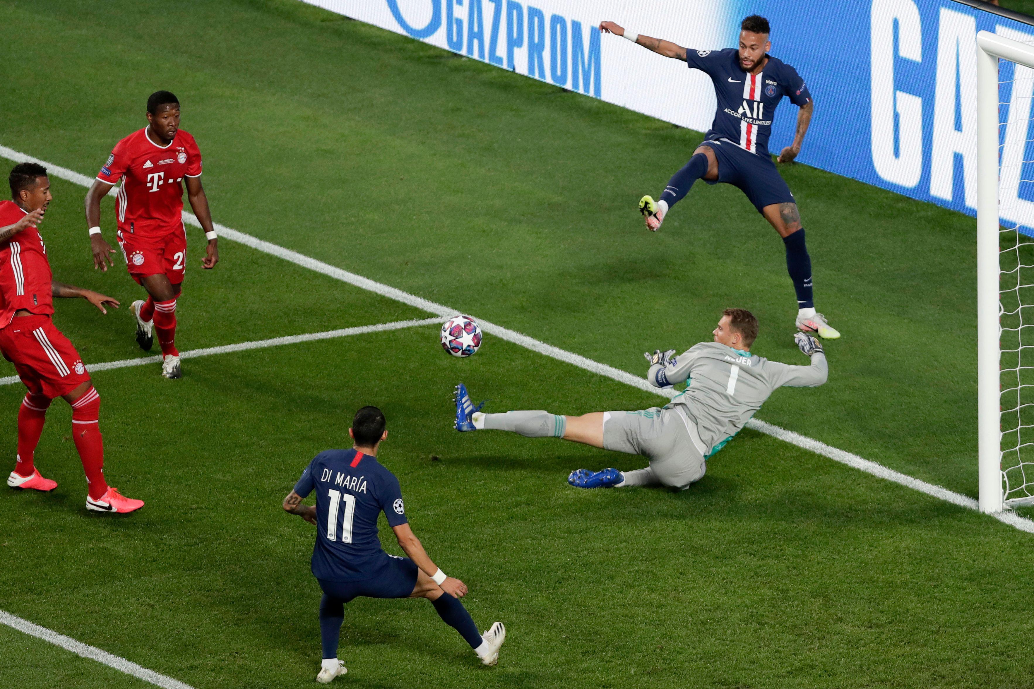 Football - Ligue des champions - Ligue des champions : la finale PSG-Bayern Munich en images