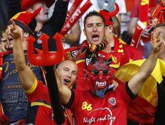 Belgique-France, Supporters belges