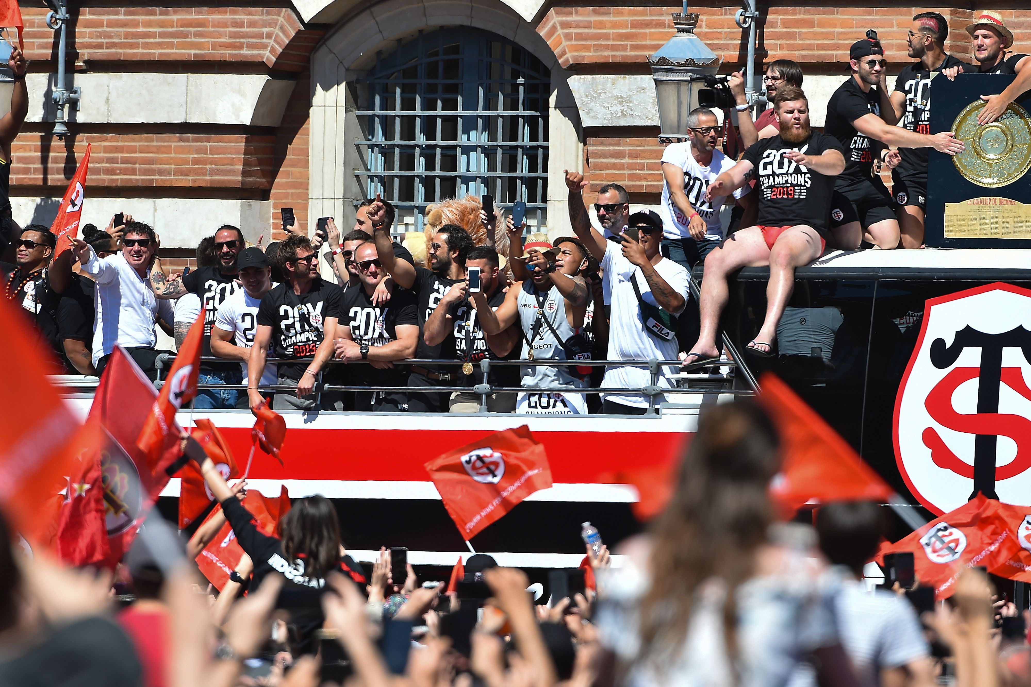 Rugby - Stade Toulousain : le retour triomphal des champions de France