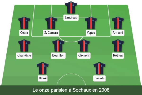 Sans Neymar contre Sochaux, avec Thiago Motta — PSG