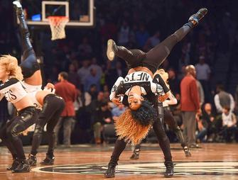 Cheerleaders des Nets