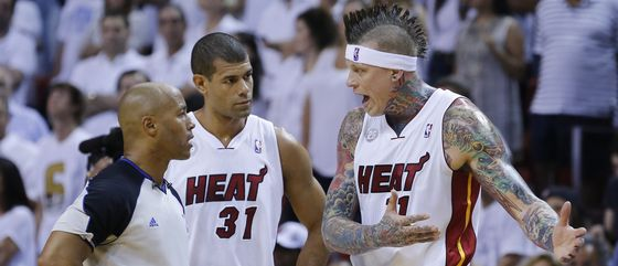 Chris Andersen - Shane Battier