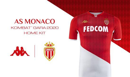super populaire ef15c 2f5cb L'AS Monaco dévoile son nouveau maillot - Fil info - Ligue 1 ...