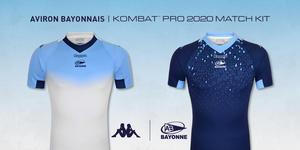 Aviron Bayonnais : Les nouveaux maillots dévoilés