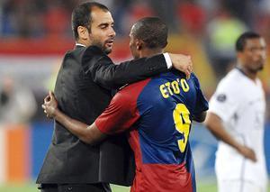 FC Barcelone : Samuel Eto'o explique comment il a remis Pep Guardiola à sa place