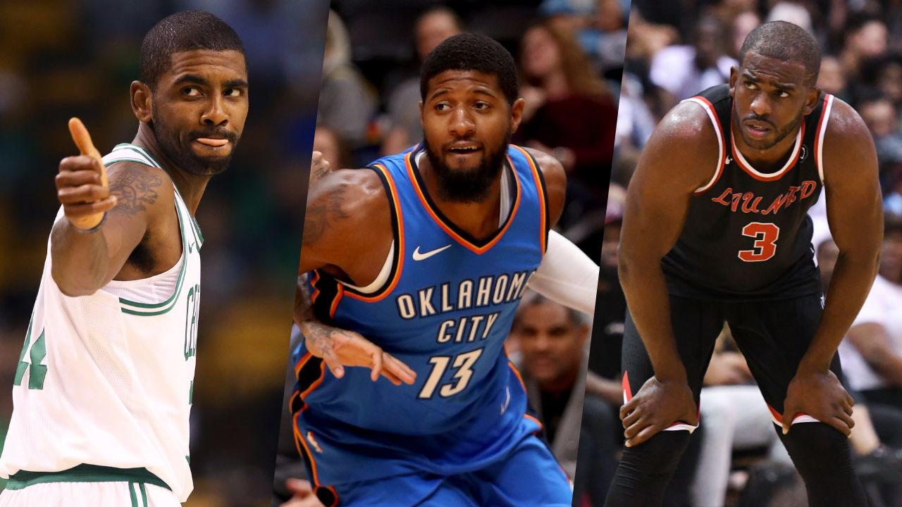 Basket - NBA - NBA : Irving, George, Paul… Les principaux mouvements d'un été totalement fou
