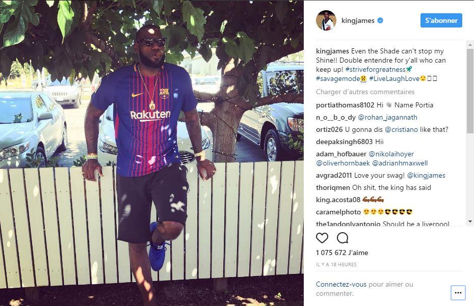 Quand Lebron James actionnaire de Liverpool, se mêle du transfert de Philippe Coutinho au Barça