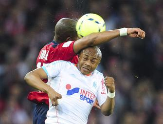 Lille-Marseille, Djibril Sidibe - Andre Ayew