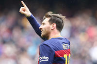 Messi meilleur attaquant d'Europe