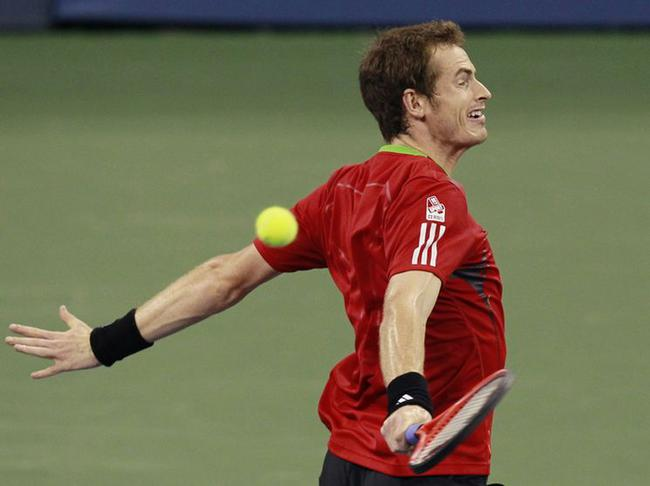Murray-balle dans le dos_Reuters