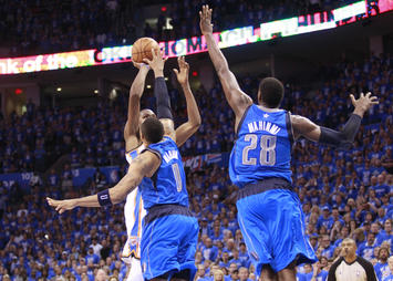 OKC-Dallas, Kevin Durant (winning shot)